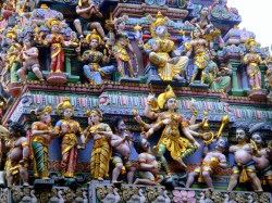 Temple-roof