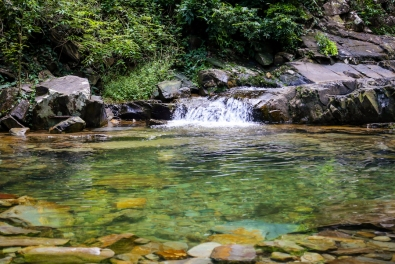 Cascata da trilha