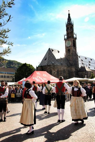 Evento Alemão na cidade de Bolzano
